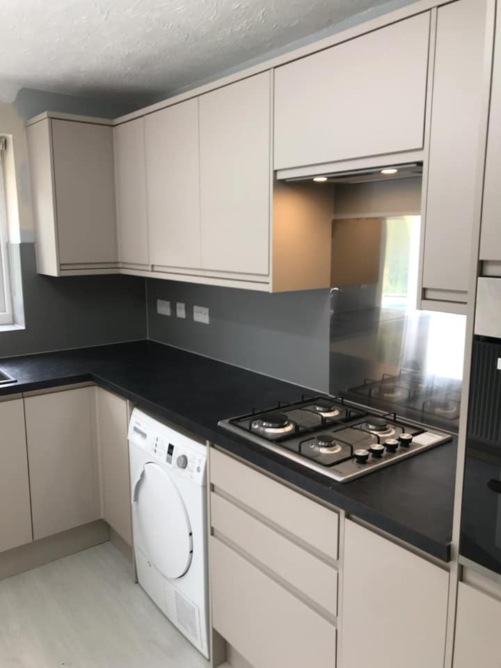 fitted kitchen makeover